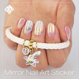Mirror Nail Art Stickers